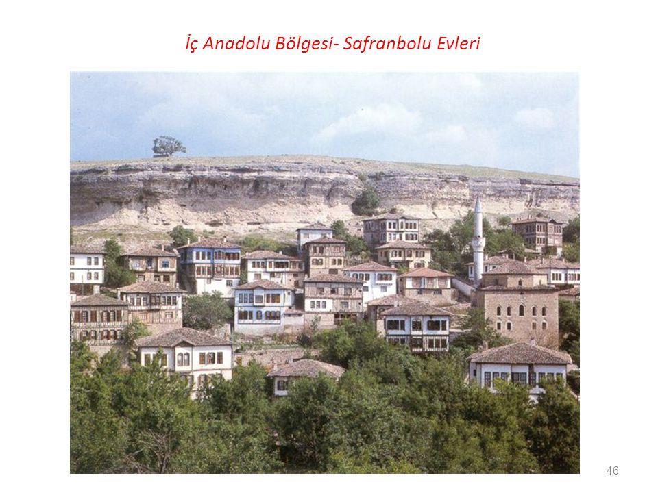 İç Anadolu Bölgesi- Safranbolu Evleri 46