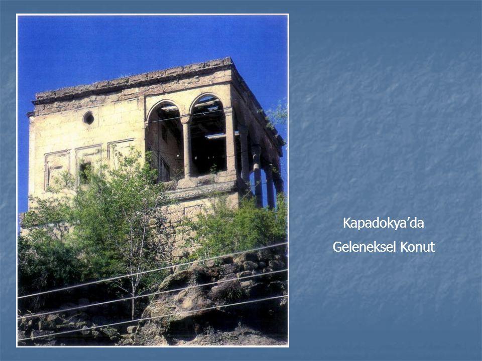 Kapadokya'da Geleneksel Konut