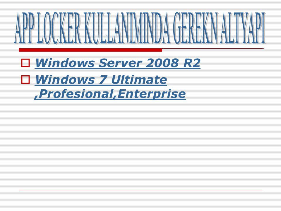 Ve son olarak engellediğimiz programı denemek için Internet Explorer Programını açıyoruz..sonuç negatif