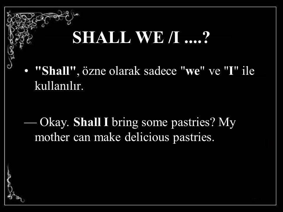 SHALL WE /I....?