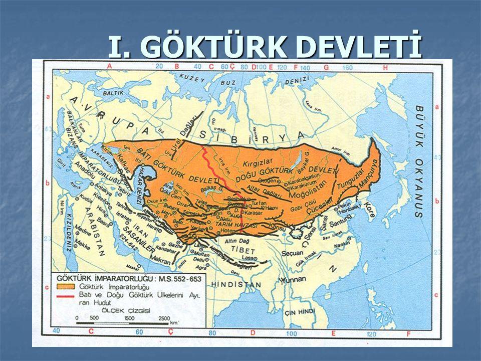 -Avar hakimiyetini sona erdirerek Göktürk Devleti kuran Bumin Kağan dır.