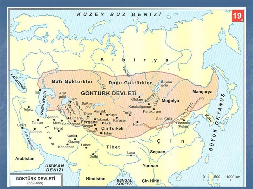 -Mukan Kağan,Kitanlah ve Kırgızlan egemenliği altına almıştır.