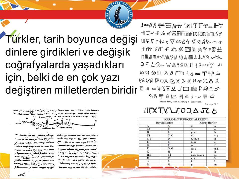 İ.Gaspıralı'nın başlattığı Türk dünyasını yazı, fikir ve eylemde birleştirme çalışmaları da bunda etkili oldu.