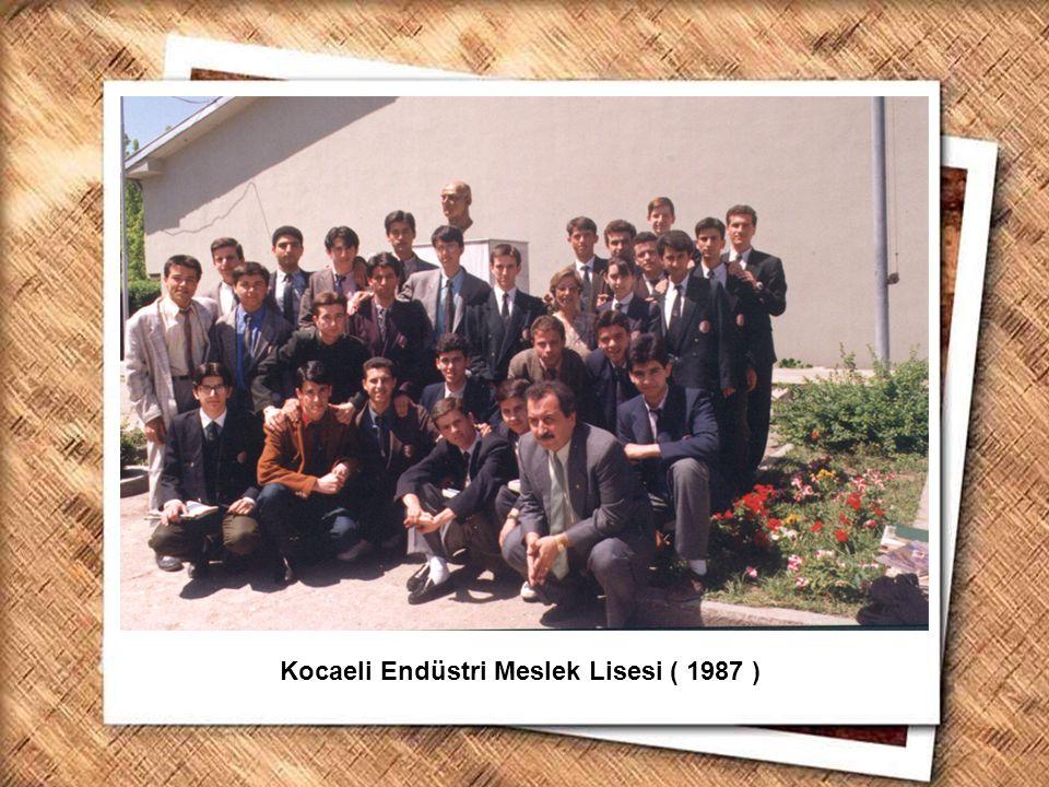 Cumhurbaşkanı Gazi Mustafa Kemal, İzmir Erkek Lisesinde matematik dersini izlerken (1 Şubat 1931) Kocaeli Endüstri Meslek Lisesi ( 1987 )