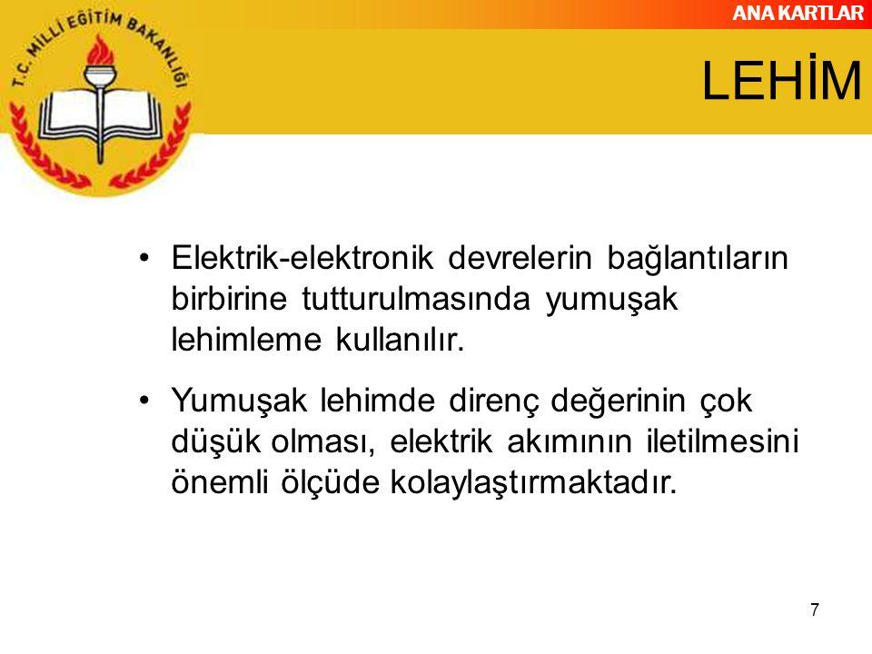 ANA KARTLAR 38 CHIPSET ÜRETİCİLERİ..
