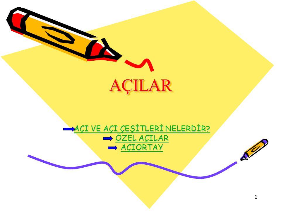 22 KAYNAKÇA: 6.sınıf ders kitabı www.matematikçifatih.com