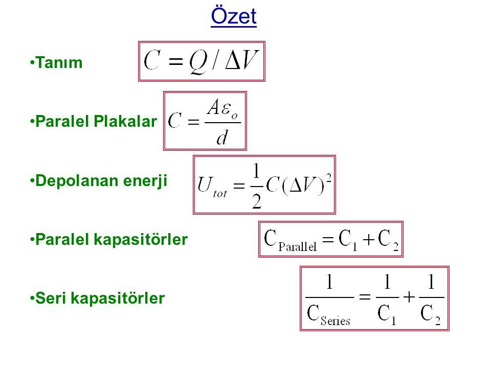 Depolanan enerji; AB 3.33  F 4.00  F A B 7.33  F B 10.0  F5.00  F 4.00  F A