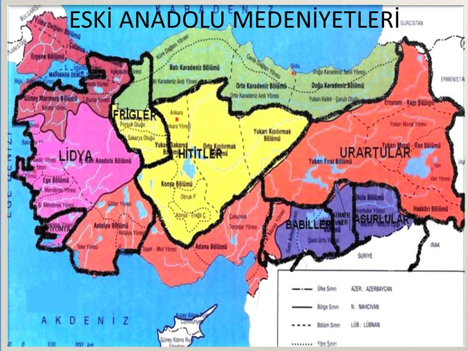 Anodolu tarih boyunca birçok medeniyeti barındırmıştır.