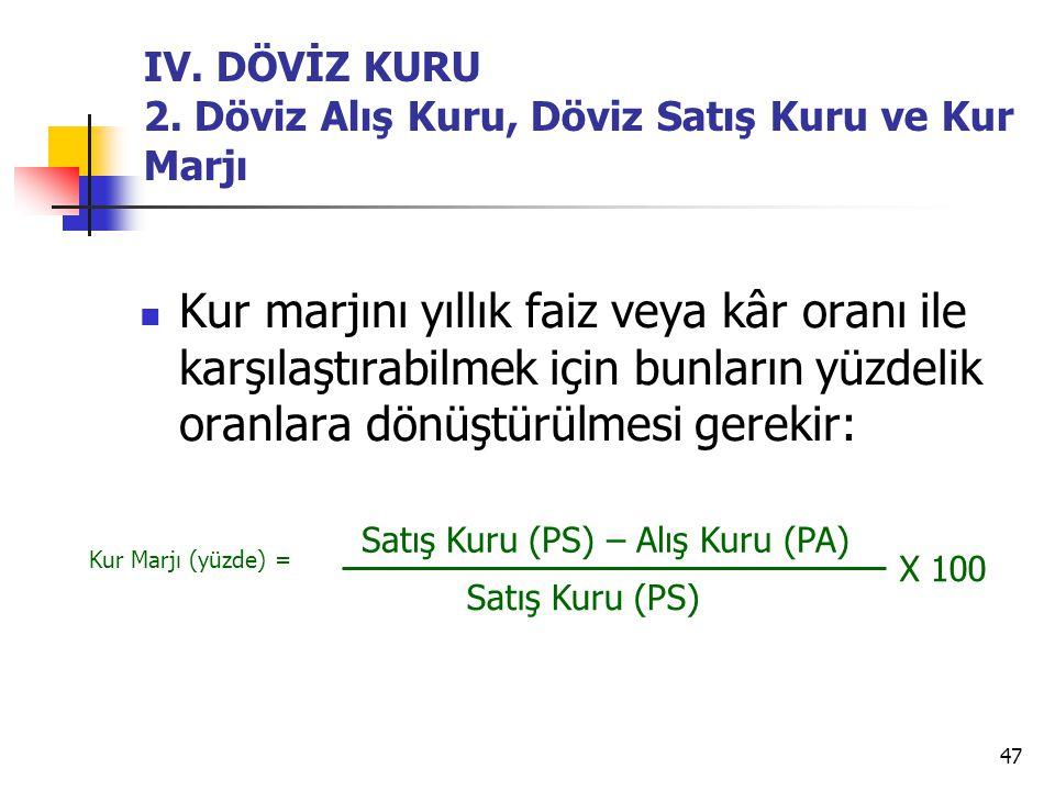 47 IV.DÖVİZ KURU 2.