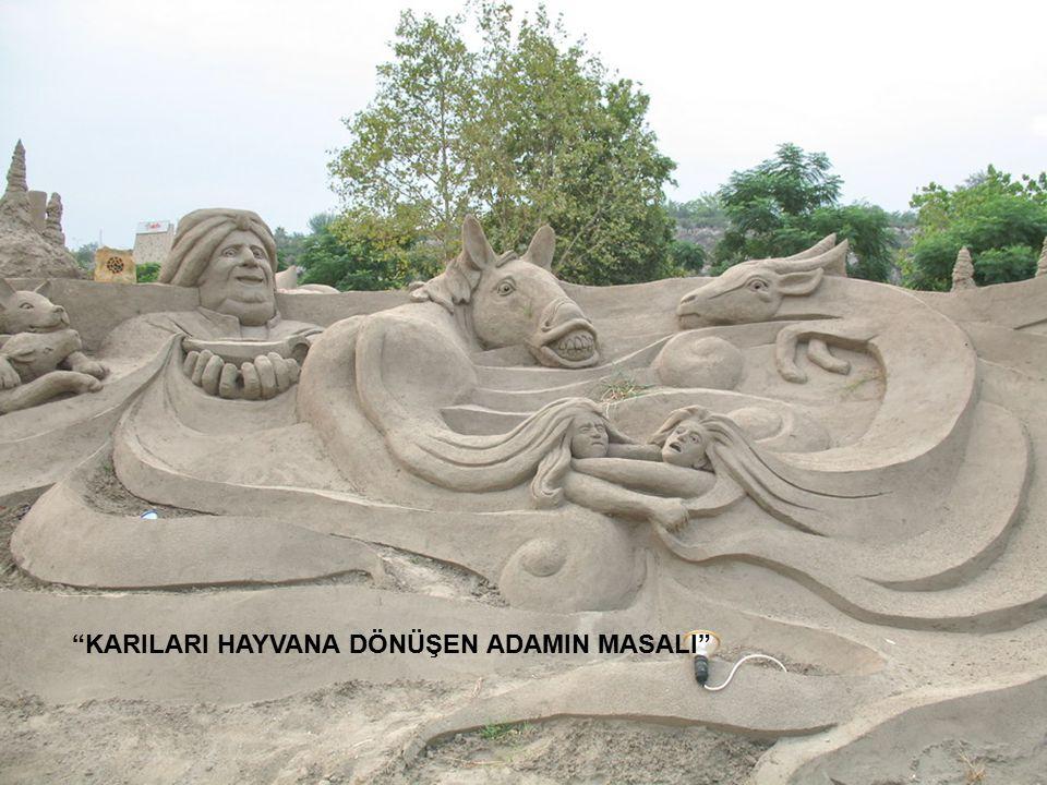 """""""KARILARI HAYVANA DÖNÜŞEN ADAMIN MASALI"""""""