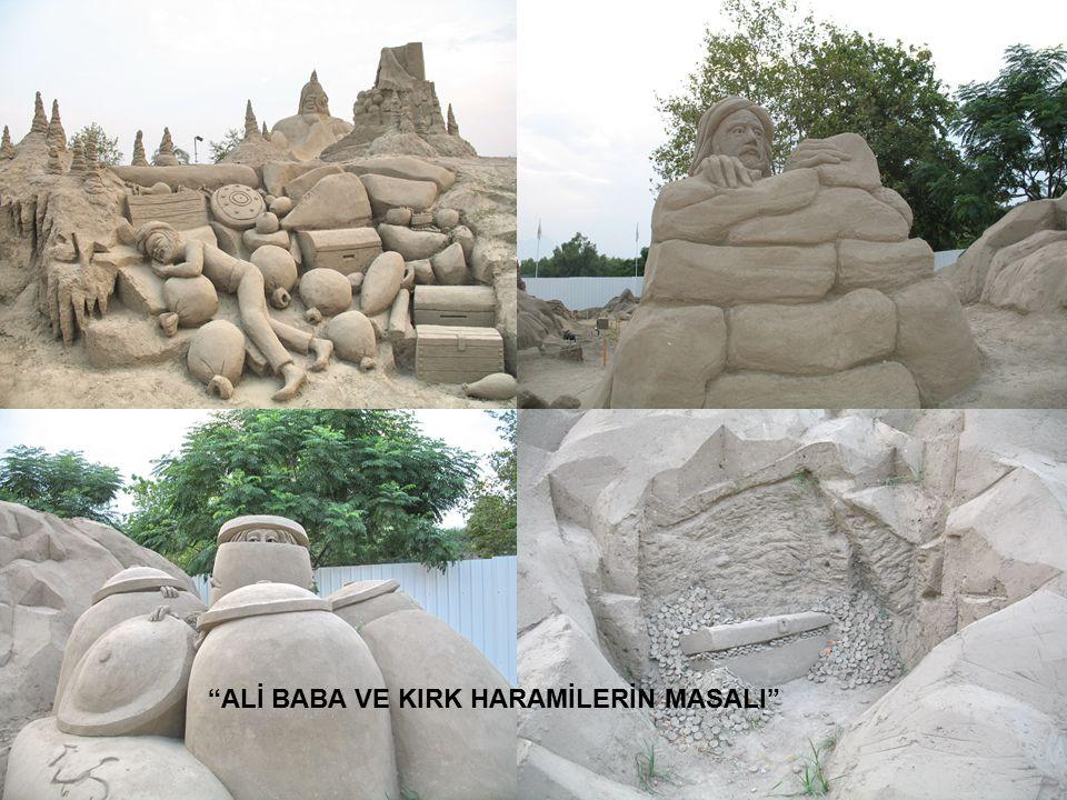"""""""ALİ BABA VE KIRK HARAMİLERİN MASALI"""""""