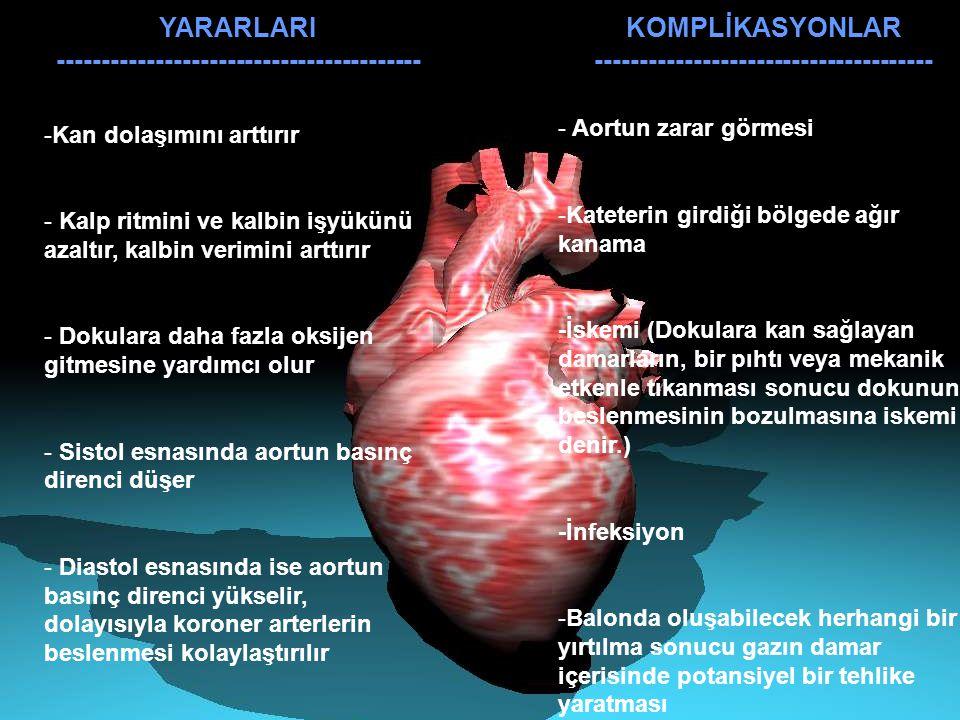 YARARLARI ----------------------------------------- -Kan dolaşımını arttırır - Kalp ritmini ve kalbin işyükünü azaltır, kalbin verimini arttırır - Dok