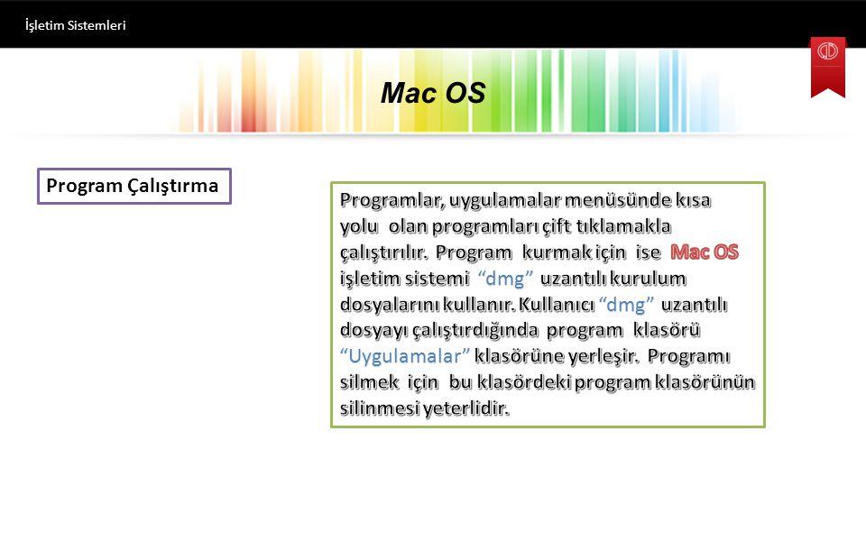Mac OS İşletim Sistemleri Bilgisayarı Kapatmak