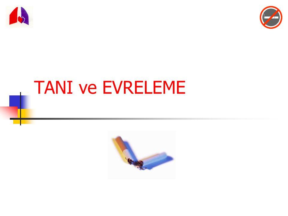 TANI ve EVRELEME