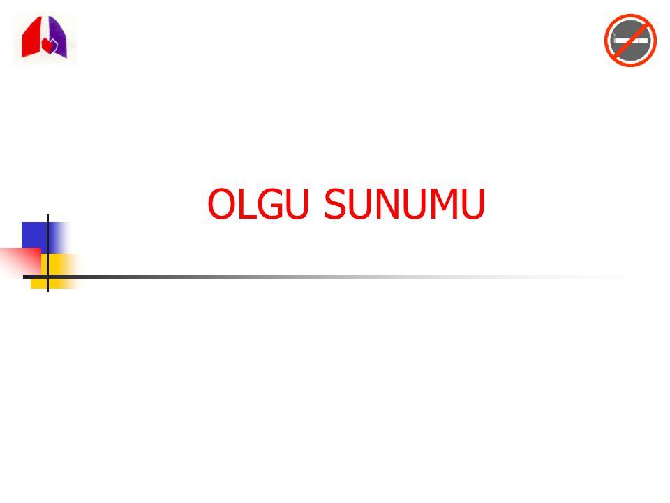 OLGU SUNUMU