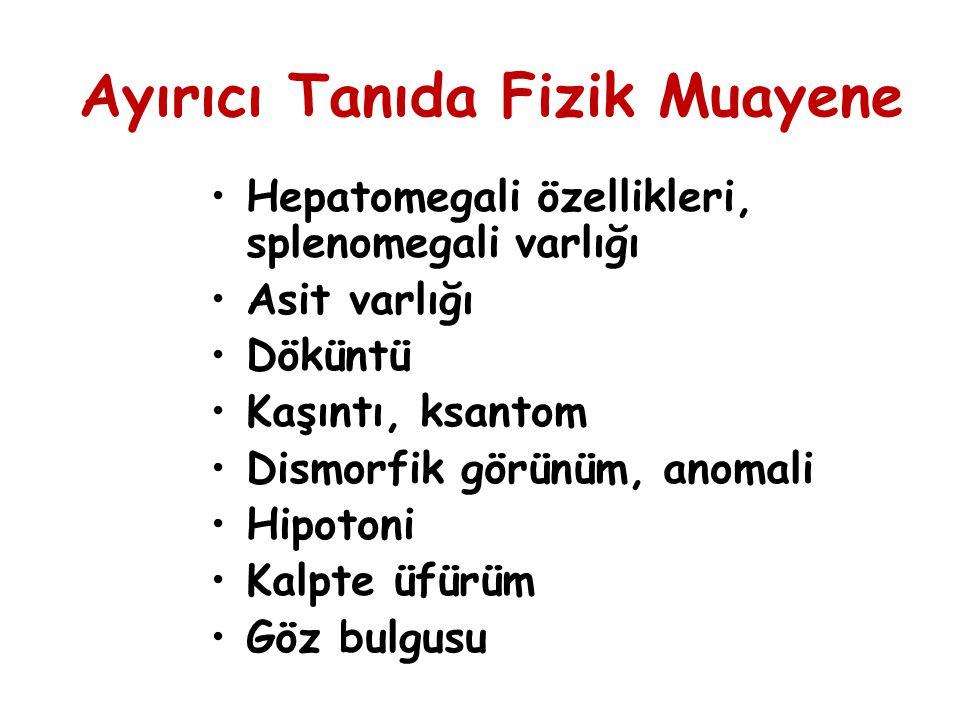 Sonuç Yenidoğan kolestazı çok sayıda hastalıkta değişik mekanizmalarla ortaya çıkan bir klinik durumdur.