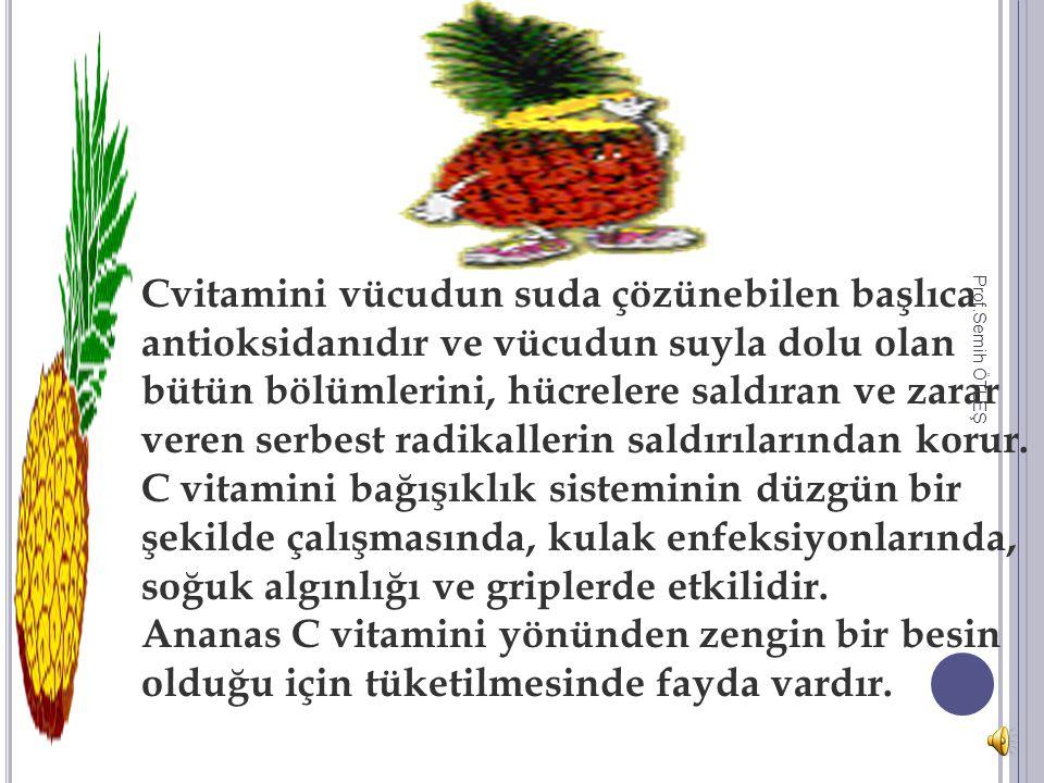 Taze ananas içinde bulundurduğu protein sindiren enzim (bromelain) sayesinde sindirime yardımcı olur ve vücutta meydana gelebilecek iltihapları ve şiş
