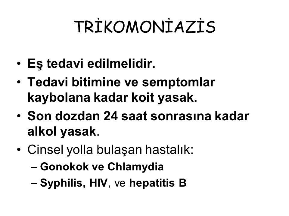MUKOPÜRÜLAN SERVİSİT Chlamydia trachomatis Neiserria Gonorrheae