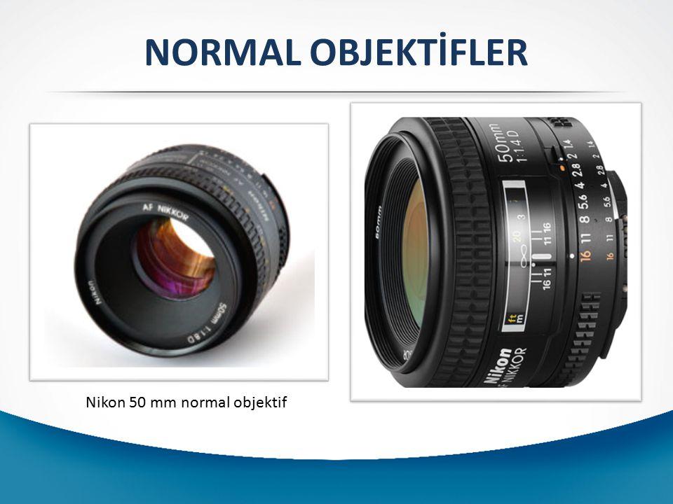NORMAL OBJEKTİFLER Nikon 50 mm normal objektif