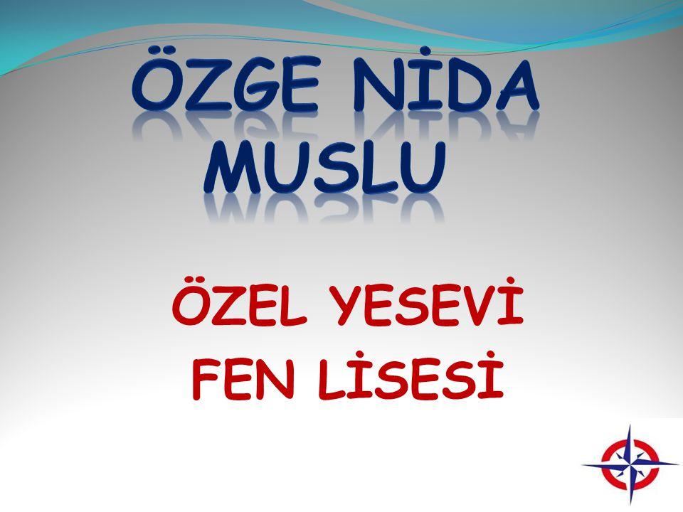 ÖZEL YESEVİ FEN LİSESİ