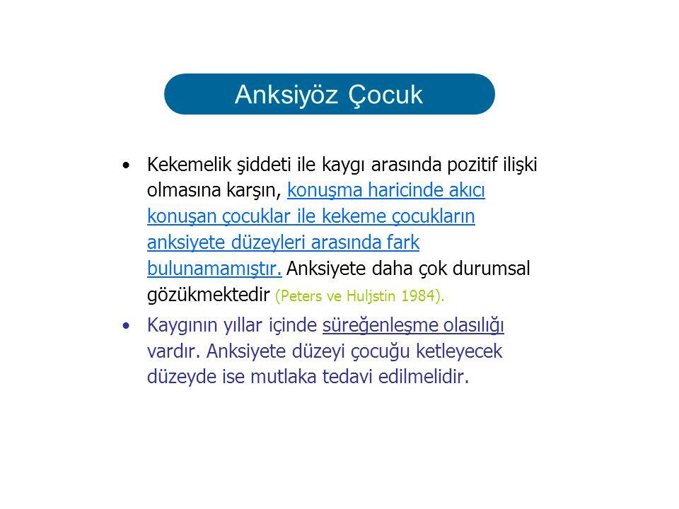 Anksiyete Bozuklukları Özgün fobi Sosyal FobiPanik Bozukluk OKB PTSB AKB GAD