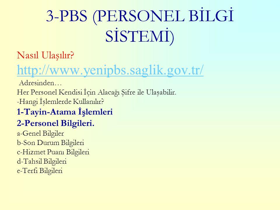 2-DİNAMİK RAPORLAMA Nasıl Ulaşılır? http://sbu.saglik.gov.tr/sbweb/ Adresinden (RAPORLAMA) Sağlık Müdürlüğü Grup Başkanlıkları ve Hastane Kullanıcılar