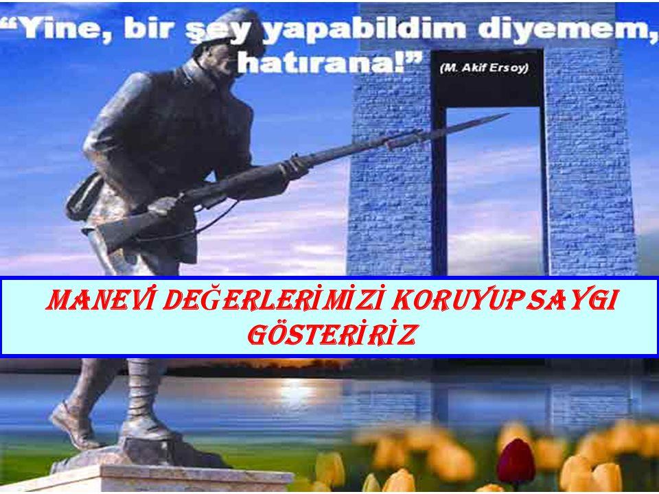 Türküm derken Türkiye'de yaşayan insanların bütünlüğünü anladığımızı, çünkü hepimizin ortak değerleri olduğu, bu nedenle vatan ve milletimizin bütünlü