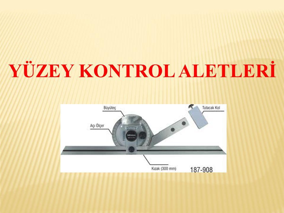 Gönyeler  Yüzeylerin düzlemliğinin ve yüzeyler arasında açıların kontrol edilmesinde kullanılan aletlere genel olarak gönye denir.