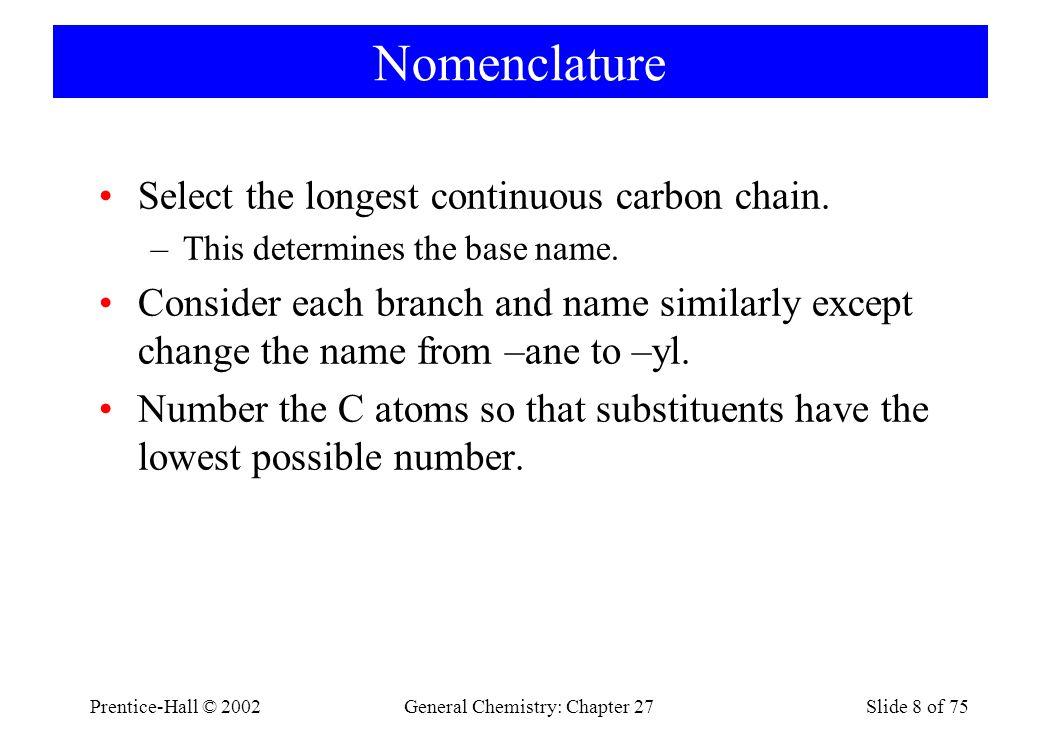 79 H | H — C— H H | H H | | | H — C — C— C — C — H | | | | H H H H Son olarak, bir karbon üzerinde iki karbonun dallandığı üç karbonlu bir zincir düşünelim.