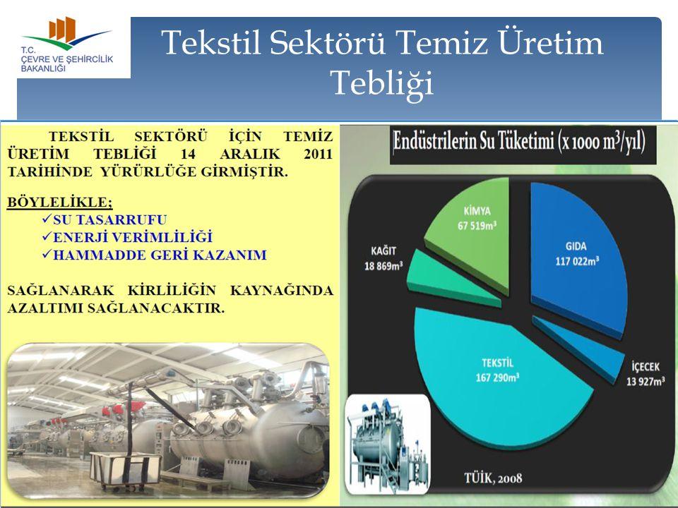Tekstil Sektörü Temiz Üretim Tebliği