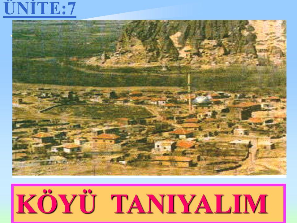 Köyü Tanıyalım Hazırlayan Faruk YAVUZ Özboyacı İlköğretim Okulu