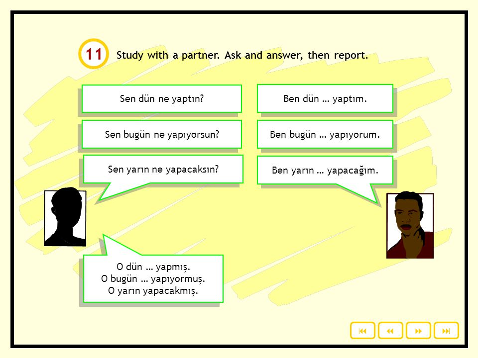 Study with a partner.Ask and answer, then report.