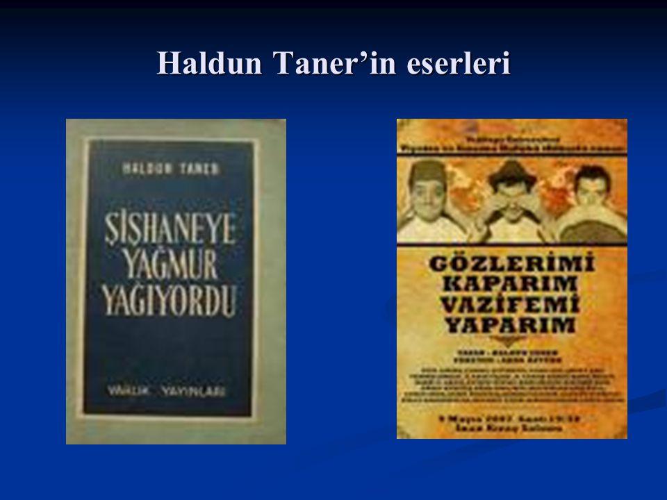 Haldun Taner'in eserleri