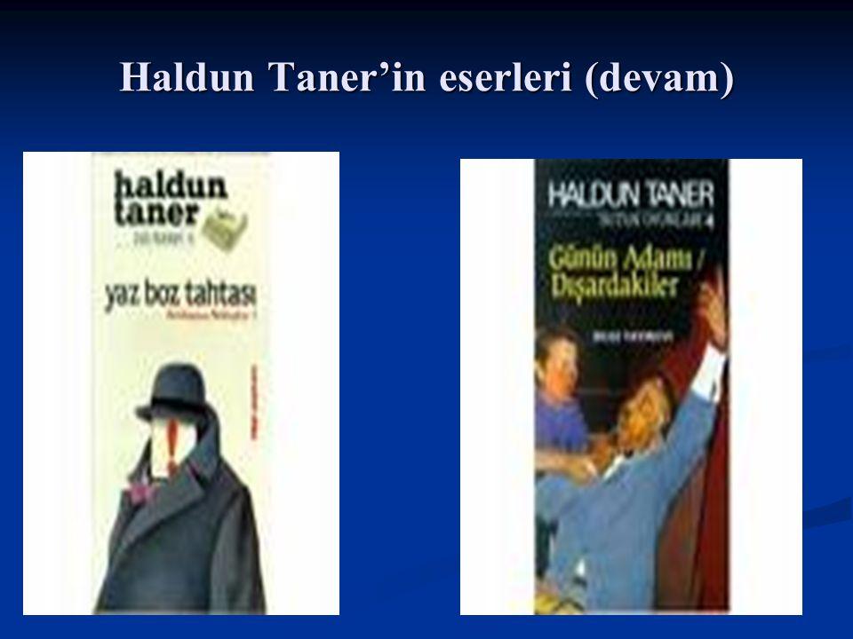 Haldun Taner'in eserleri (devam)