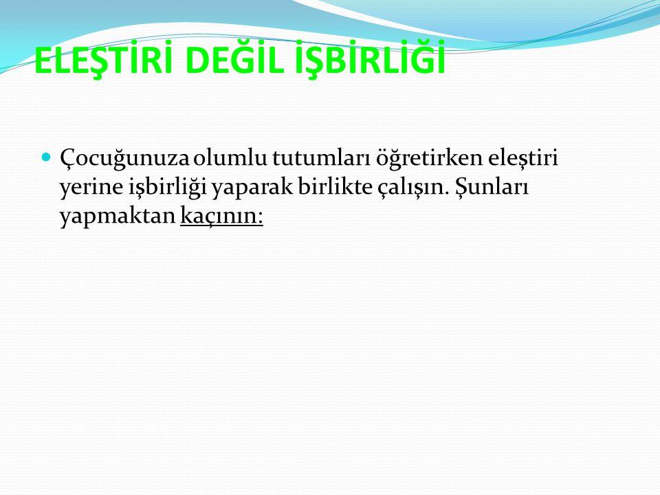 ÇOCUĞUNUZA DUYGULARIYLA NASIL BAŞ EDECEĞİNİ ÖĞRETİN 1.