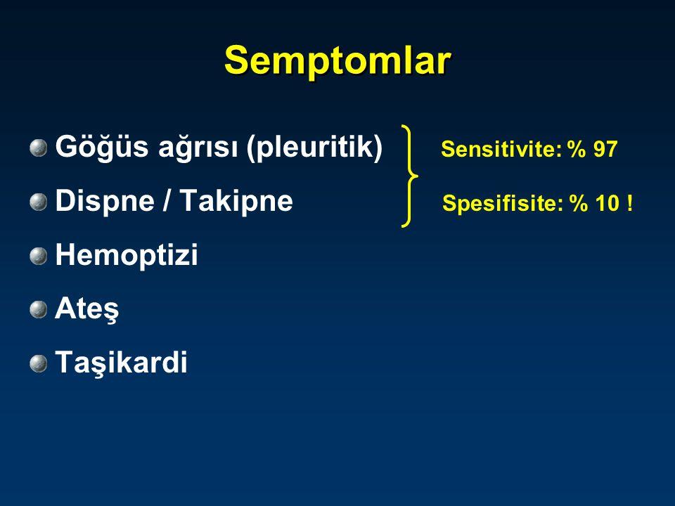 Pulmoner embolide klinik formlar .