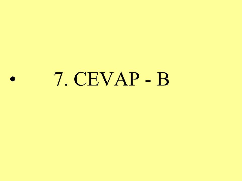 7. CEVAP - B