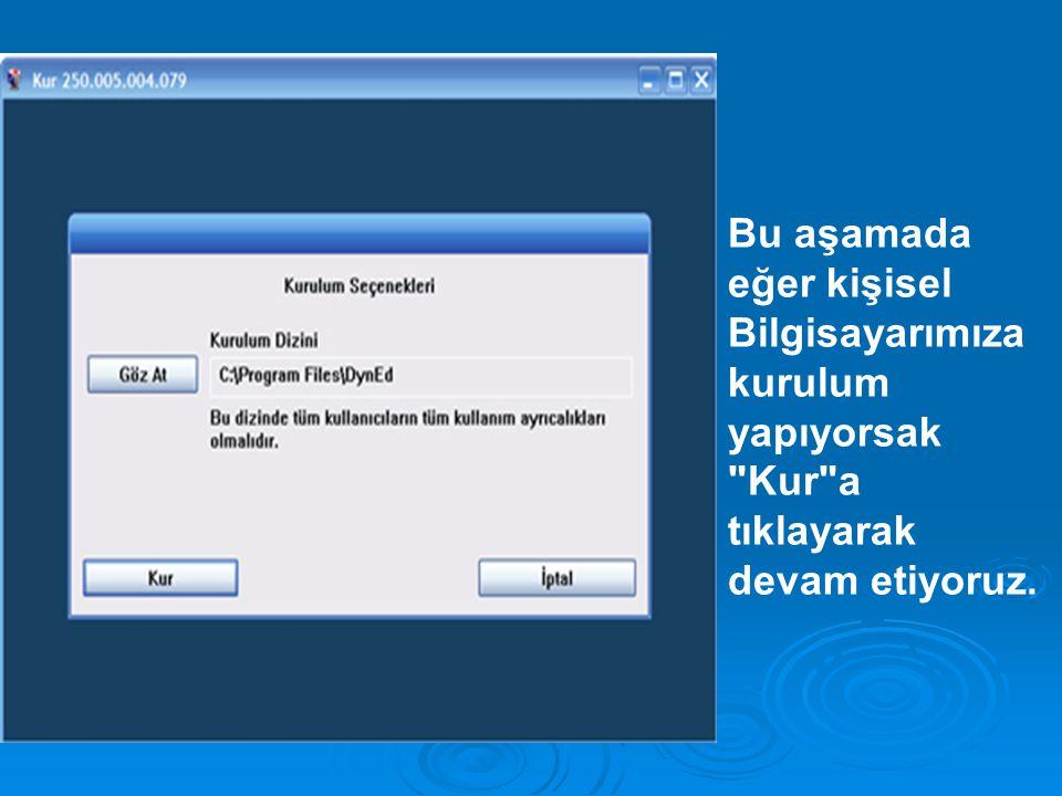 BTS SINIFLARINDA KURULUM (windows NT, windows2003 kurulu olmalı.