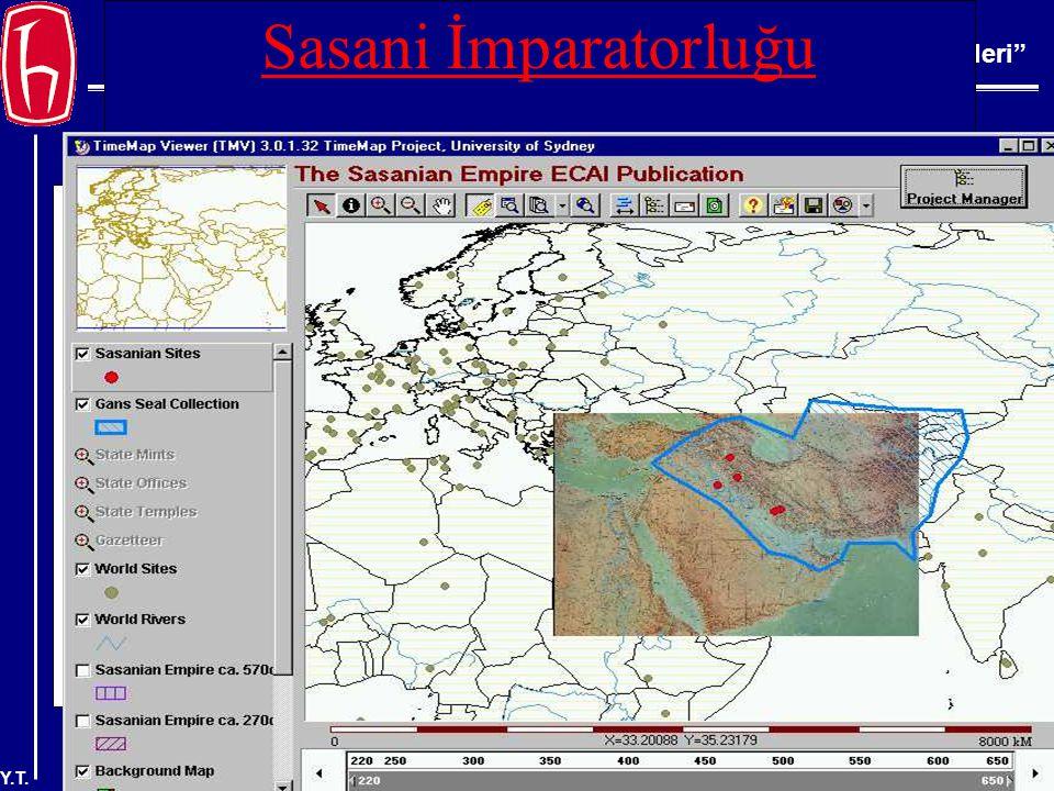 BBY 220 Bilgi Erişim İlkeleri Y.T. Sasani İmparatorluğu