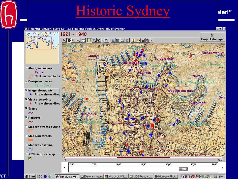 BBY 220 Bilgi Erişim İlkeleri Y.T. Historic Sydney