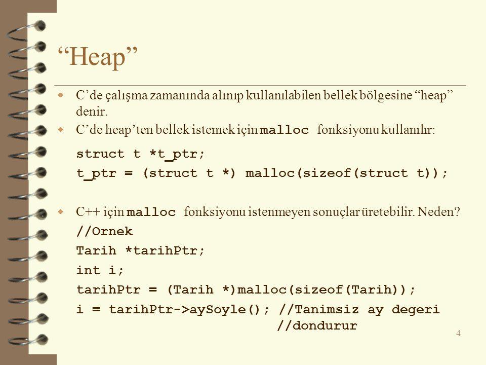 this İŞARETÇİSİ - 4  Hem C'de hem C++'da bir atama deyimi atananı değer olarak alan bir ifade gibi düşünülebilir.
