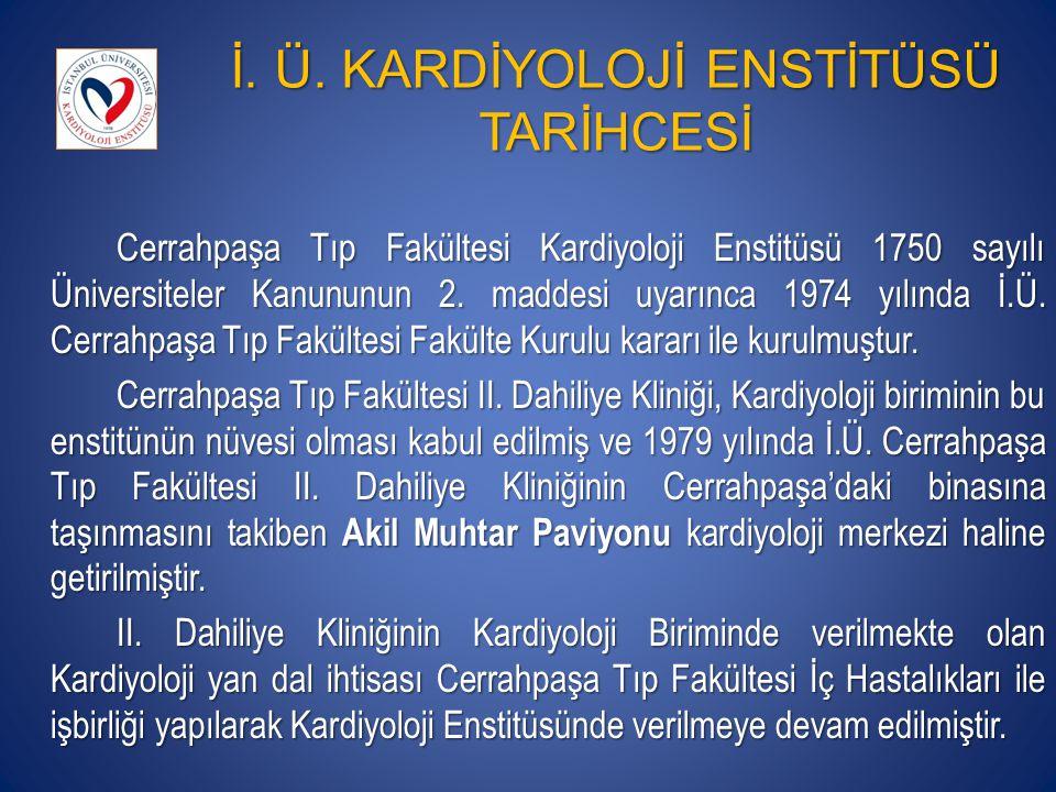 KARDİYOLOJİ ENSTİTÜSÜ MALİ DURUMU, 2012 KARDİYOLOJİ A.D.