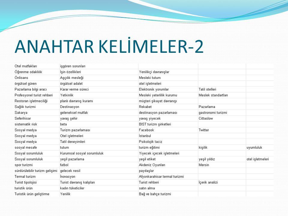 ANAHTAR KELİMELER-2