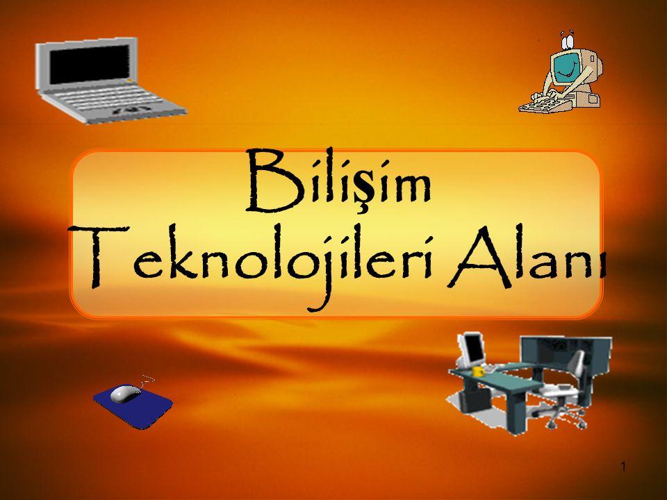 1 Bili ş im Teknolojileri Alanı