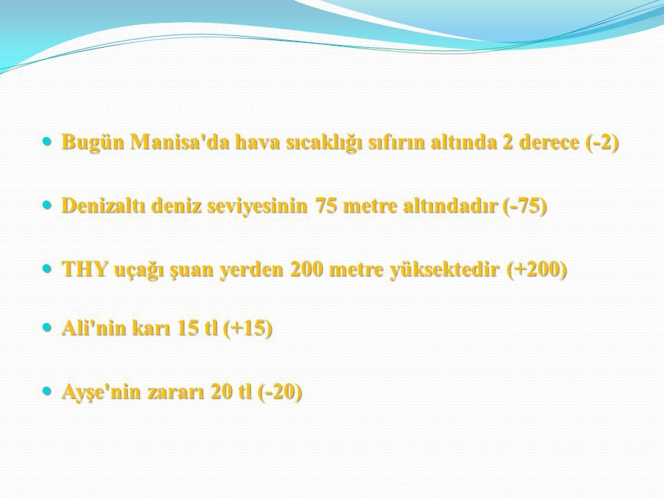 3.(-24-11) x (-3+3) =. İşleminin sonucu kaçtır. A) -35 B) 35 C) 0 D) 33 4.
