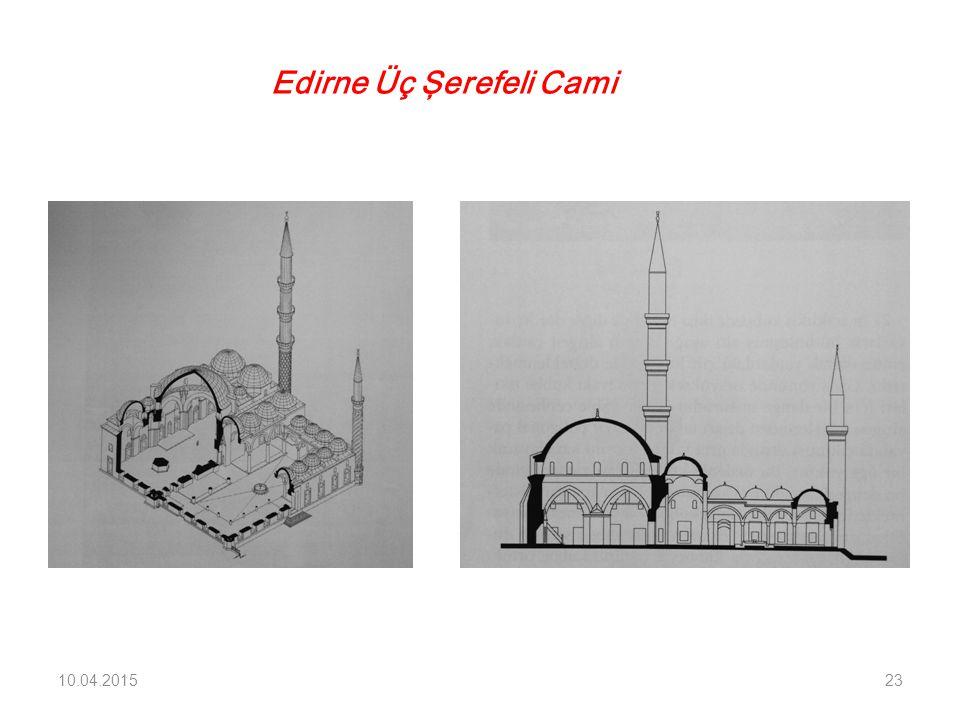 Edirne Üç Şerefeli Cami 10.04.201523