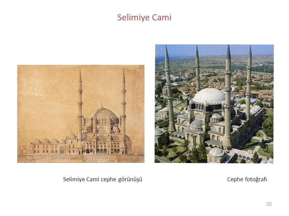 55 Selimiye Cami Selimiye Cami cephe görünüşü Cephe fotoğrafı