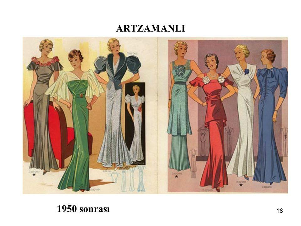18 ARTZAMANLI 1950 sonrası