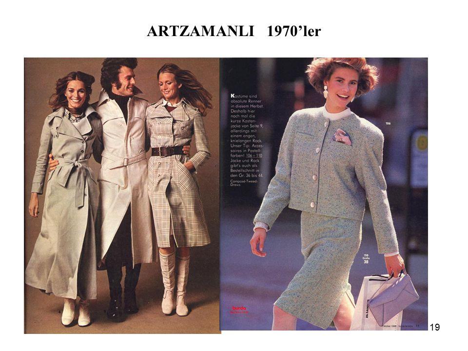 19 ARTZAMANLI 1970'ler