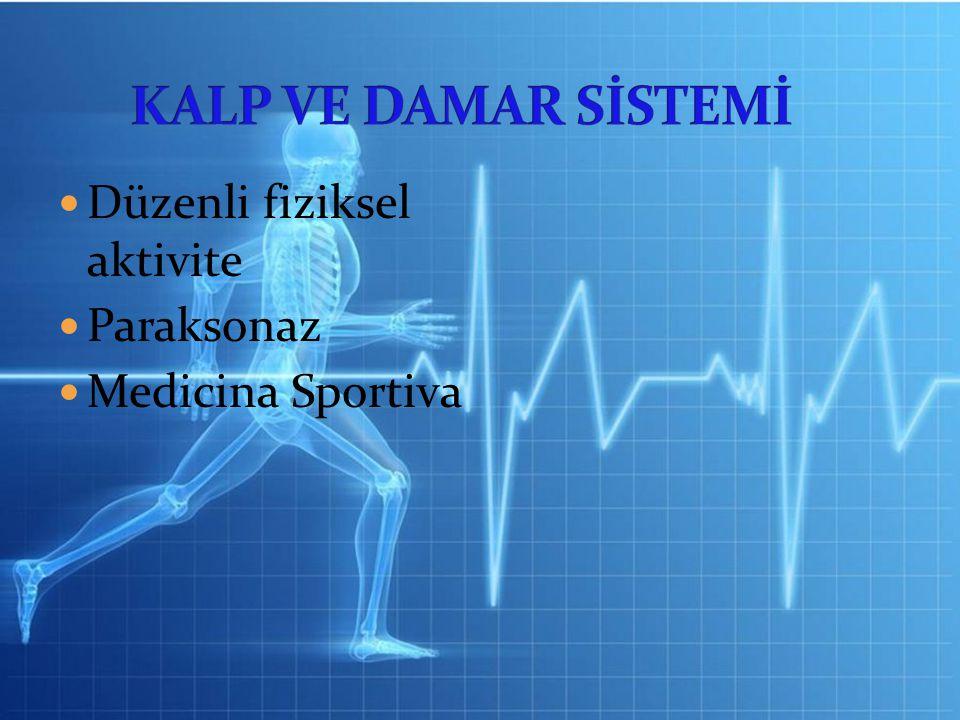 Düzenli fiziksel aktivite Paraksonaz Medicina Sportiva